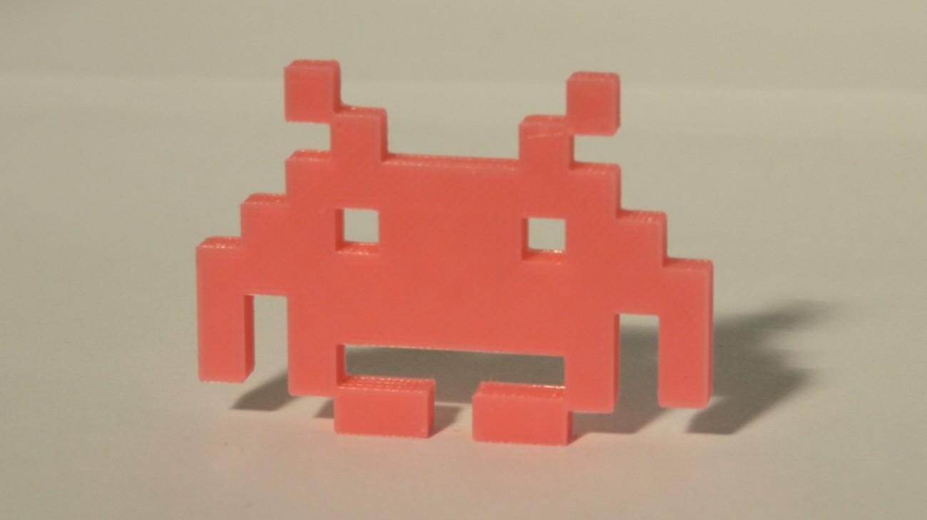 Magnet Invader 1.1 Rose