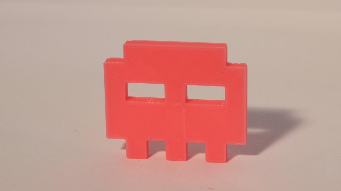 Magnet Skull Pixels Rose